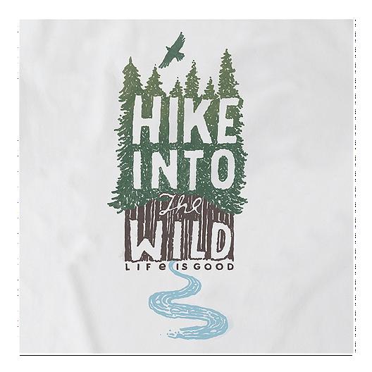 Life Is Good Men S Hike Into The Wild Crush T Shirt Sport Chek