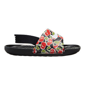 Nike Girl Toddler Kawa All Over Print Picnic Slide Sandals