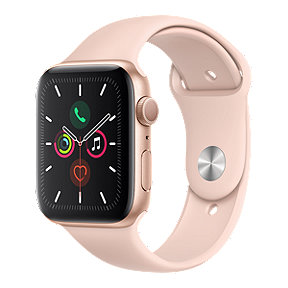 Apple Watch Series 5 GPS 44MM - Gold/Pink Sport Band