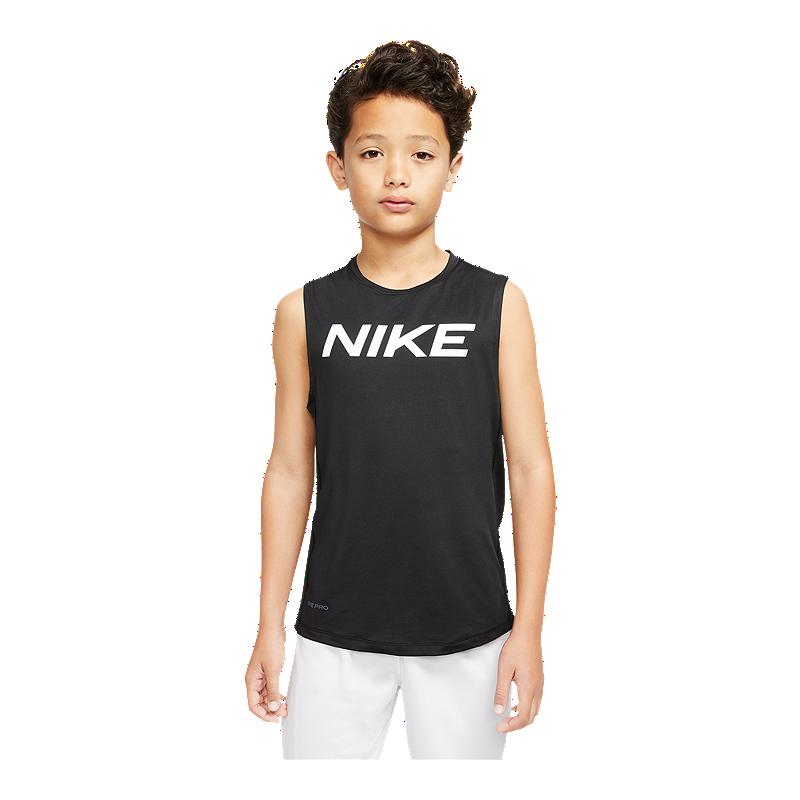 Grabar Sombra Apropiado  Nike Boys' Pro Sleeveless Fitted Tank   Sport Chek