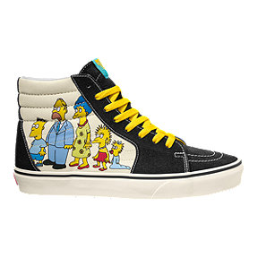 Vans x Simpsons Men's SK8-Hi 1987-2020 Skate Shoes
