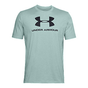 Under Armour Men's Sportstyle Logo T Shirt - Lichen Green