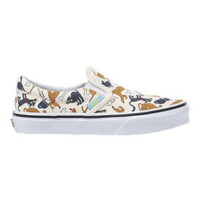 Vans x Simpsons Boys' Classic Slip-On Family Pets Skate Shoes