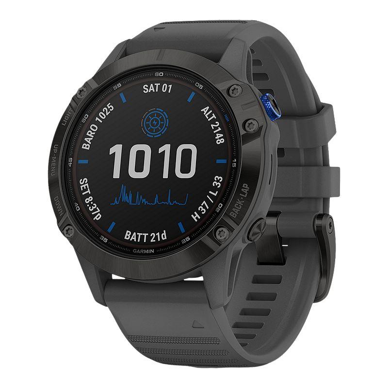 Image of Garmin Fenix 6 Pro Solar Fitness Watch