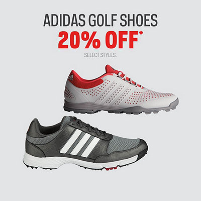 Select Adidas Golf Shoes 20% Off* Sale