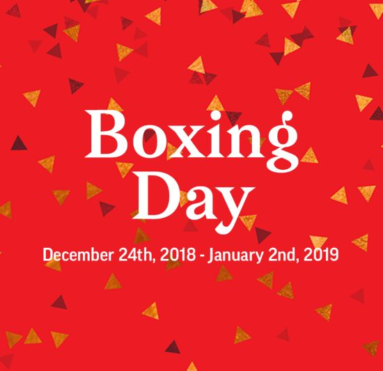 Boxing Day Sale 2018 December 24 January 2 Sport Chek