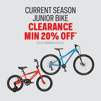 Select Current Seasons Junior Bikes Clearance Min 20% Off*