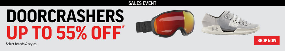 Sales Event. Doorcrashers Up to 55% Off* Select Brands & Styles. Shop Now.