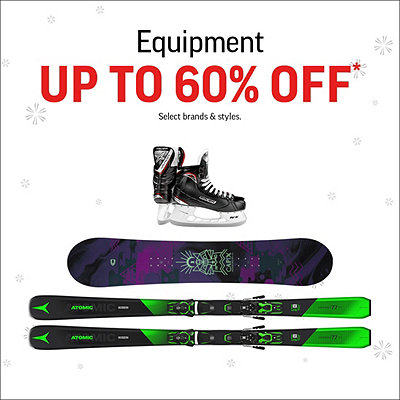 Select Equipment Deals up to 60% Off*