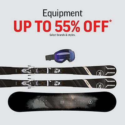 Select Equipment Deals up to 55% Off*