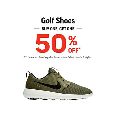Golf Shoes Buy One, Get One 50% Off