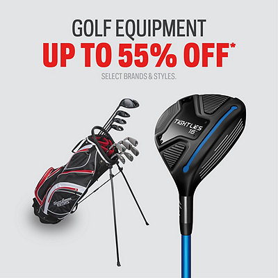 Golf Equipment Deals up to 55% Off