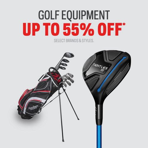 Golf Equipment up to 55% Off