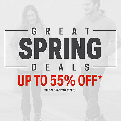 Great Spring Deals up to 55% Off*