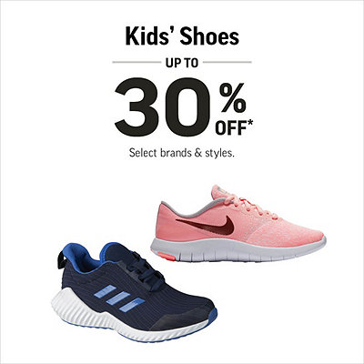 Kids' Shoes up to 30% Off*