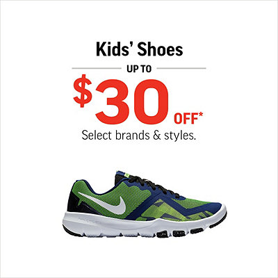 813271cc8fb11 Kids' Shoes Up to $30 Off*
