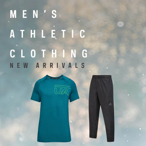 Men's Apparel New Arrivals