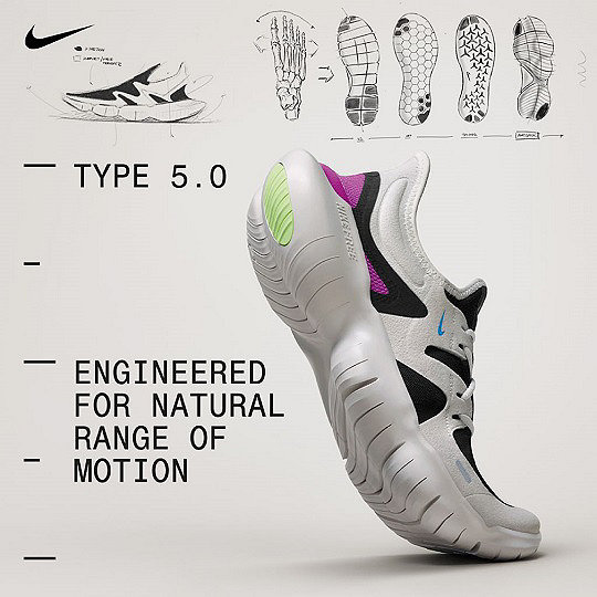 fc76c9e31a66 Nike Free RN Running Shoes. Engineered for natural range of motion.