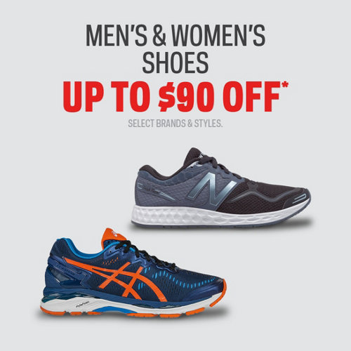 Shoes up to $90 Off