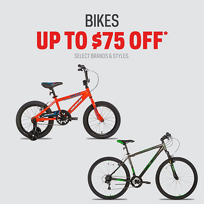 Nakamura, Diadora & Capix Bikes up to $75 Off*