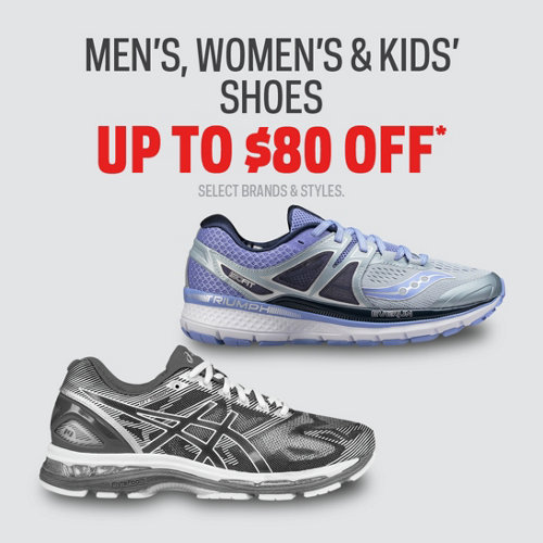 Shoes Up to $80 Off