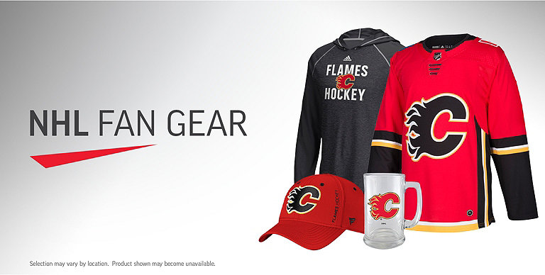 4627044294ce6 Calgary Flames Jerseys, Clothing, Headwear and Novelty