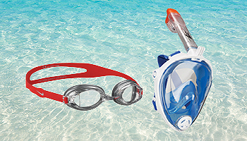 Shop Goggles and Snorkeling