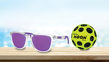 Shop Sunglasses, Sprays & Games
