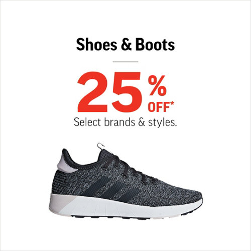 Shoes & Boots 25% Off