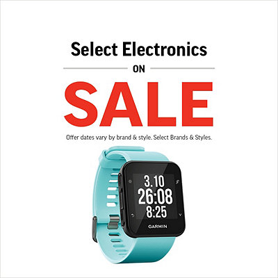 Select Fitness Trackers & More Great Deals on Electronics