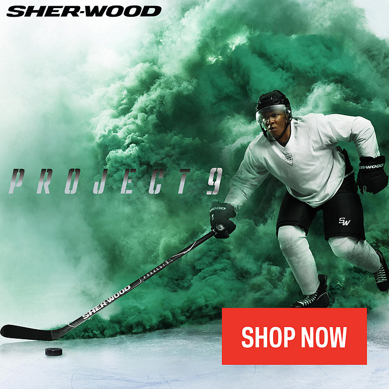 Sher-Wood Project Hockey Sticks