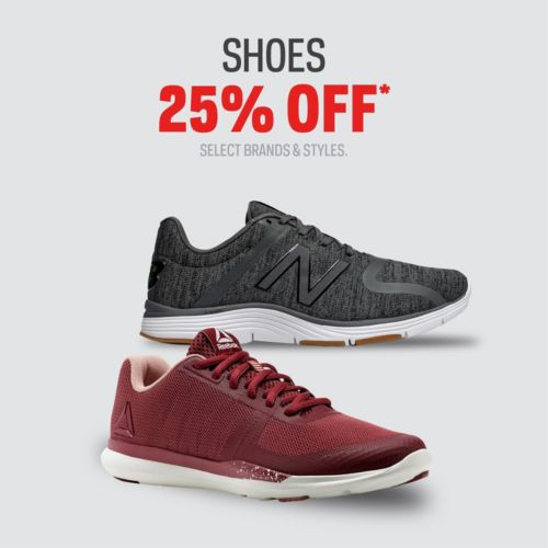 25% off Shoes & Sandals from $11.97 @ Sport Chek