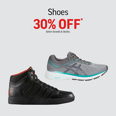 Select Shoes & Boots 30% Off*