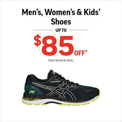 newest 94a23 4b58f Men s, Women s   Kids  Shoes Up to  85 Off