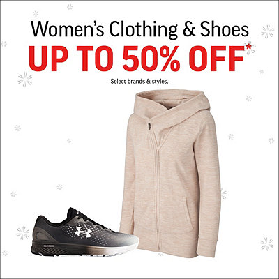 Women's Clothing & Shoes Up to 50% Off*