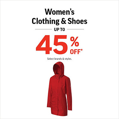 Women's Shoes & Clothing Up to 45% Off*