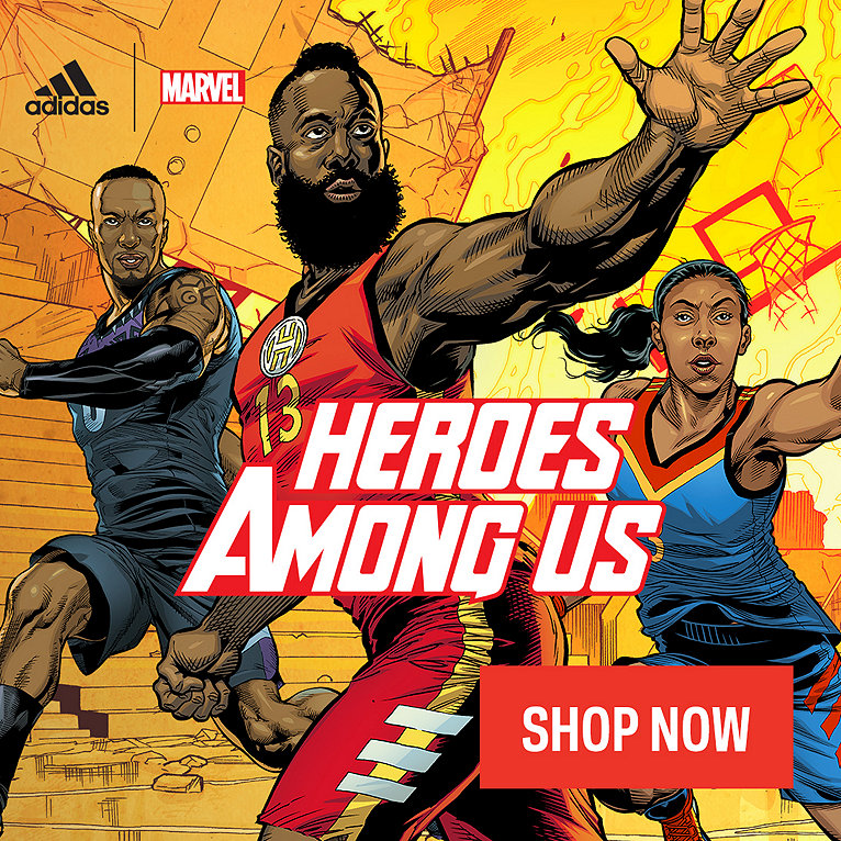 adidas x Marvel Heroes Among Us Collection