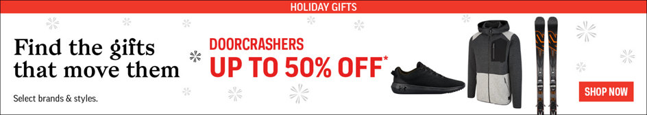 Find the Gifts that Move Them. Doorcrashers Up to 50% Off. Select Brands & Styles. Shop Now.