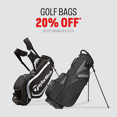 Golf Bags 20% Off