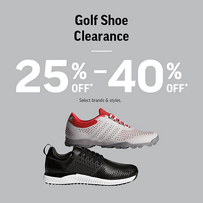 Golf Shoe Clearance 25%-40% Off*