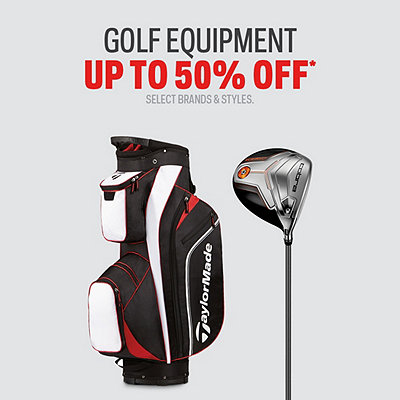 Golf Equipment up to 50% Off
