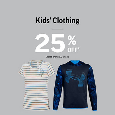 Kids' Clothing 25% Off*