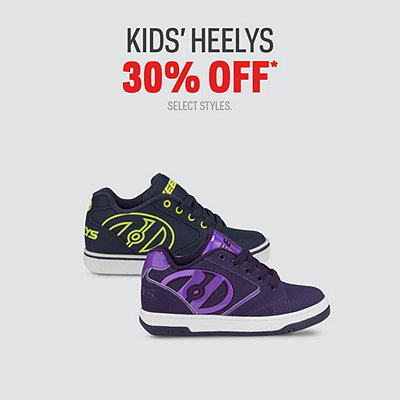 Select Kids' Heelys 30% Off*