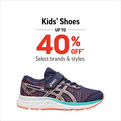 Select Kids' Shoes Up To 40% Off*