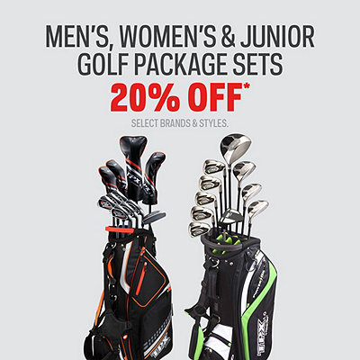Men's, Women's & Junior Golf Package Sets 20% Off