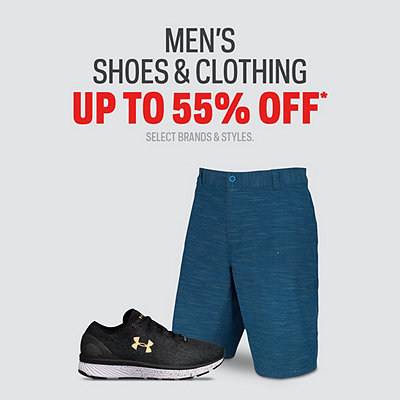 Select Men's Shoes & Clothing up to 55% Off*