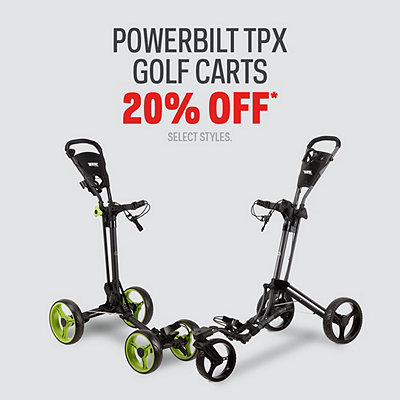 Powerbilt TPX Golf Carts 20% Off