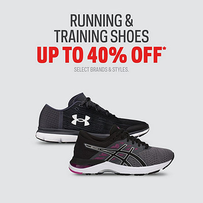 Select Running & Training Shoes up to 40% Off*