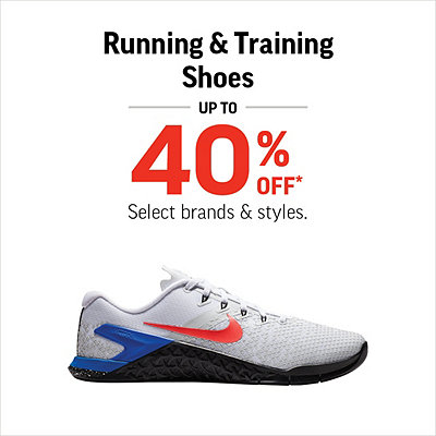 7932b132a4 Select Men's, Women's & Kids' Running & Training Shoes Up to 40% Off