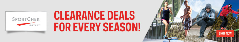 Clearance Deals for Every Season! Sport Chek Outlet. Shop Now.